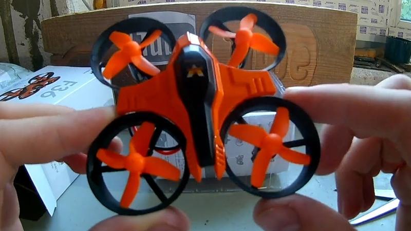 Квадрокоптер Furibee F36. Самый маленький и самый доступный мини дрон