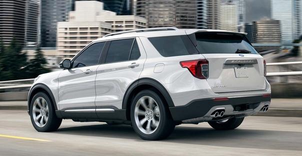 Ford представил внедорожник Explorer шестого поколения.