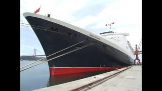 Постройка модели судна Queen Elizabeth 2 (1 часть)