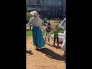 Дюймовочка танцы на свежем воздухе с детьми после спектакля в котором акткрами были дети