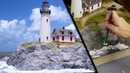 How to Build an Amazing Seaside Diorama Realistic Scenery Vol 14