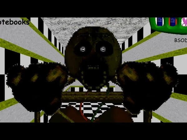 Springtrap's Basics in Education and Learning Baldi Mod v0.2