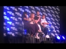Caity Lotz, Franz Drameh Brandon Routh Legends Panel At HVFF 02