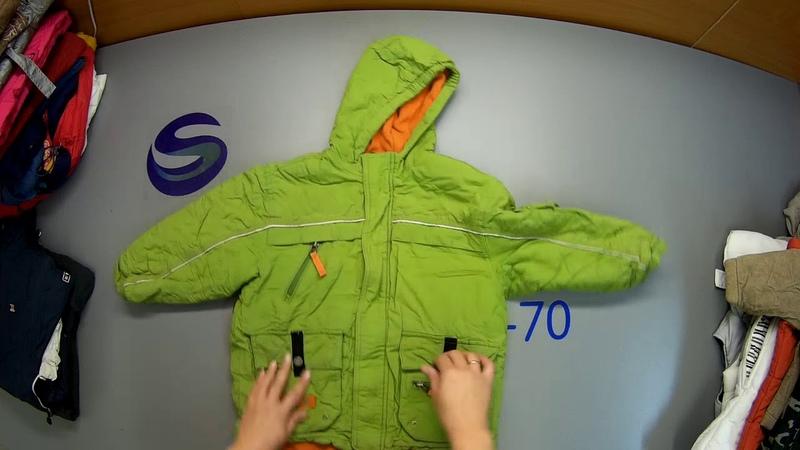 СЕКОНД ХЕНД Арт. Д7 Уп. №3 Куртки детские 1 сорт, Голландия. С/ст 138 р/ед