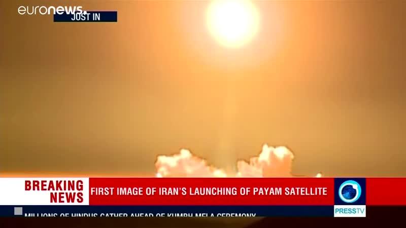 Пуск иранской РН