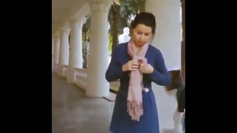 Шарфики платочки. Вновь актуально