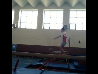 гимнастка я от бога
