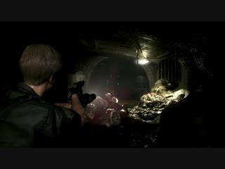 Resident evil 2_ leon gameplay - familiar faces