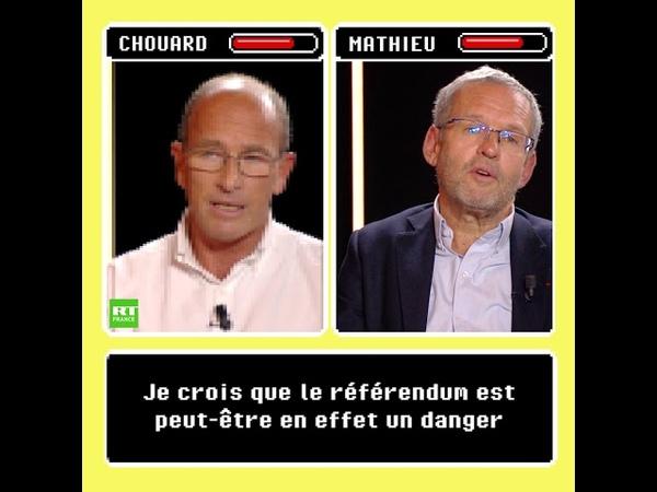MATCH ! Etienne Chouard vs Bertrand Mathieu