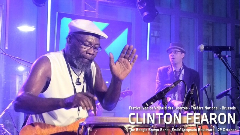 Clinton Fearon The Boogie Brown Band Talk Band Intro Théâtre National 2016 Brussels HD