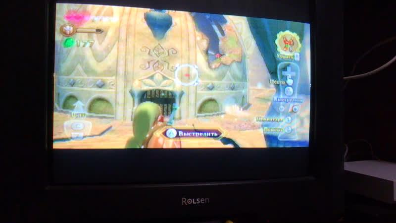 Баг в игре Zelda на Nintendo Wii
