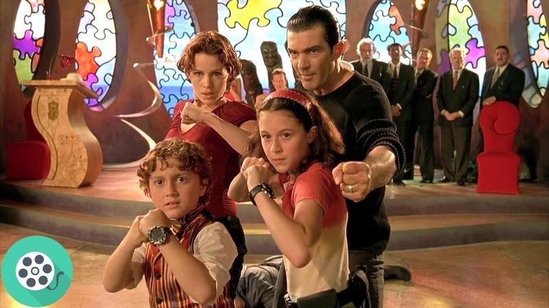Ты сильный Джуни! Ты сильный! ОУУ... Ты не такой сильный! Дети шпионов (2001) год.