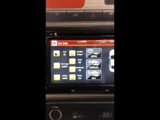 Магнитола CRS 710 с навигацией