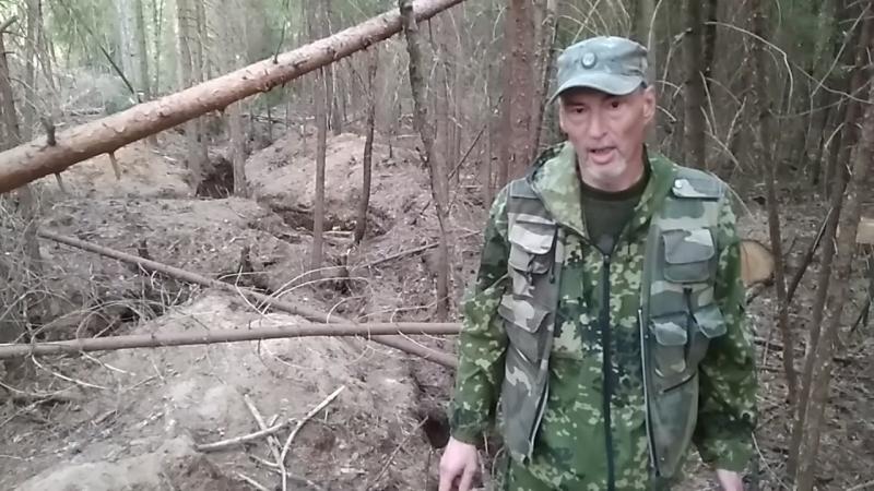 Камандир олонецких поисковиков Олег Левашов