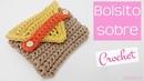 Bolsito de ganchillo para guardar auriculares Crochet bag for headphones