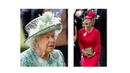 QUEEN OF FASHION Aquamarine skirt suit for Queen Elizabeth at Royal at RAscot Day 5 !!