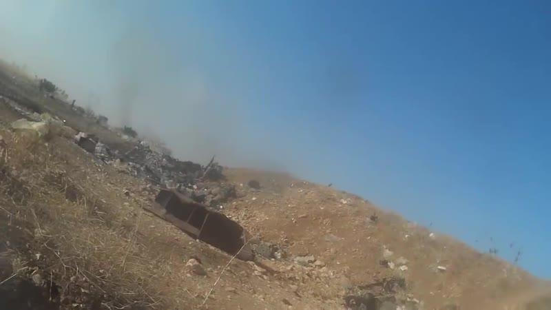 Бой. Идлибский фронт. Сирия