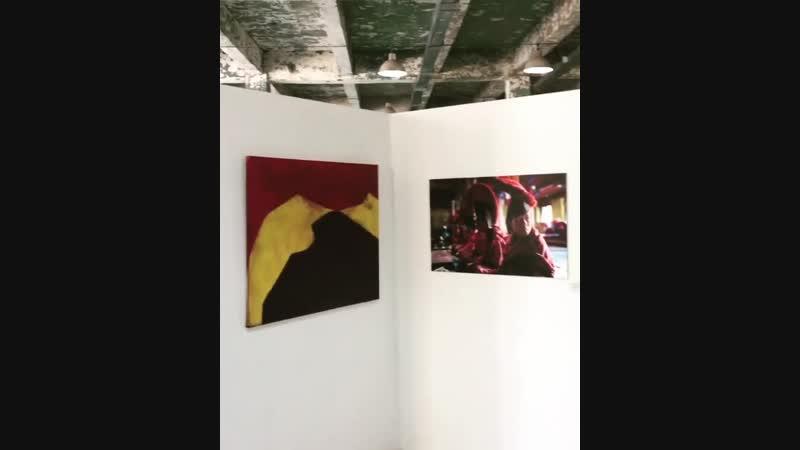 Вторая в жизни выставка - 25 картин, 30 фотографий и двухчасовое аудиальное сопровождение записанное на труднодоступных тропах Г