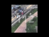 30.07.2018г Автомобиль BMW сбил трёх пешеходов в Новой Москве