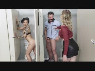 Giselle Palmer, Honey Gold [Full HD 1080 porn, sex, big ass, natural tits, boobs, lesbian, FFM, asian, exotic, blonde, hardcore]