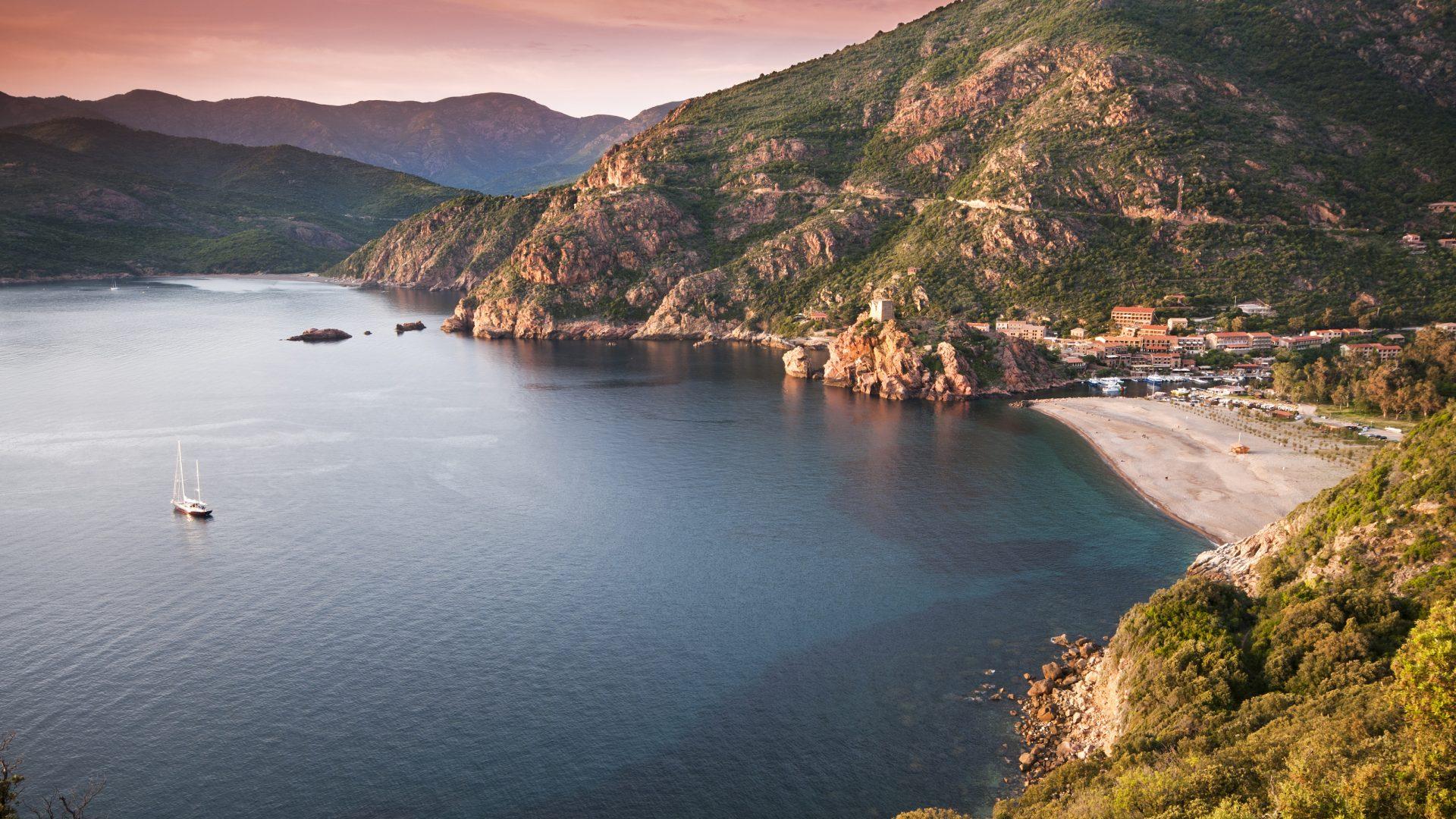 Корсиканский пляж