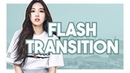 Flash transition after effects tutorial