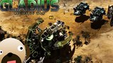 SPACE MARINES ENGAGE THE NECRONS - Warhammer 40,000: Gladius - Relics of War Gameplay