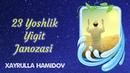 23 Yoshlik Yigit Janozasi Xayrulla Hamidov