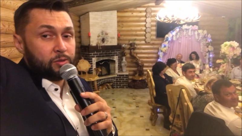Фееричная свадьба Лидии и Сергея - ведущий Виталий Белан