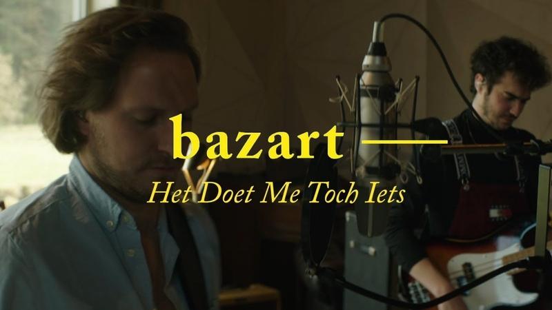 Bazart - het doet me toch iets (live sessie @ Daft Studios)