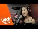 Sheryn Regis sings Come In Out Of The Rain LIVE on Wish 107 5 Bus