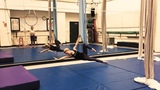 Paige Jarreau on Instagram Practiced a hammock routine today! It feels really good to put together something to music, even if it's just for fun...