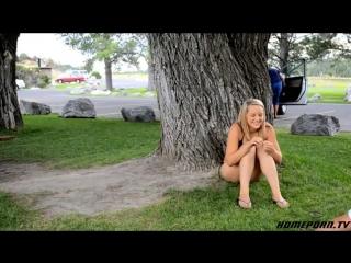 Порно в парке без палева
