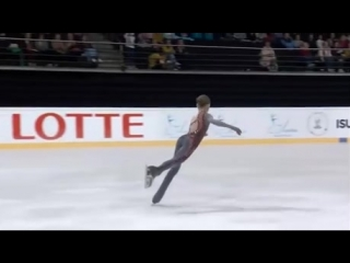 Alexandra Trusova (14) flawlessly nailed a quadruple Lutz, becoming the first female skater to perform this extremely difficult