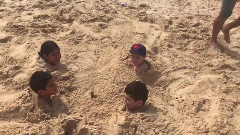 Ashdod Beach Sand Escape Challenge אתגר החול בעיר אשדוד
