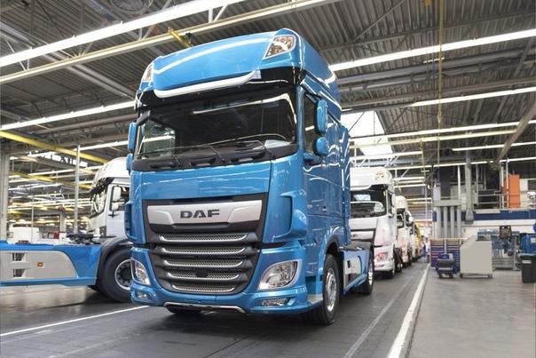 РЕКОРДЫ DAF Компания ДАФ Тракс подвела итоги за 2018 году. Исходя из статистики, компания DAF значительно увеличила свою долю в Европейском регионе. В 2018 году компания DAF Trucs побила все