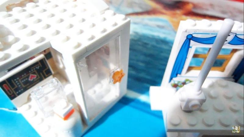 Lắp ráp lego friends tự chế nhà đẹp| Assemble lego friends homemade beautiful home model