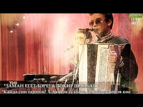 Зәкир Шаһбан Заман - Кайда син гармун