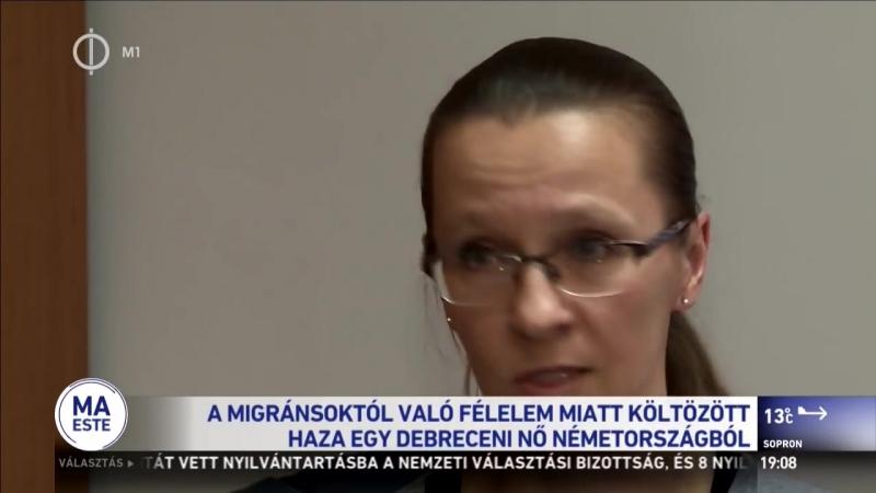 Németországból költözött haza egy magyar nő a migránshelyzet miatt смотреть онлайн без регистрации