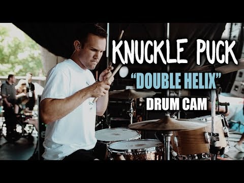 Knuckle Puck Double Helix Drum Cam LIVE