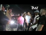 Kodak Black сходит с ума возле ночного клуба в Голливуде