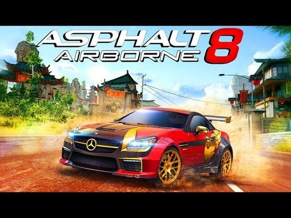 Мультики про Машинки для Детей Игры Гонки Спорткары Суперкары Asphalt 8 Airborne 8