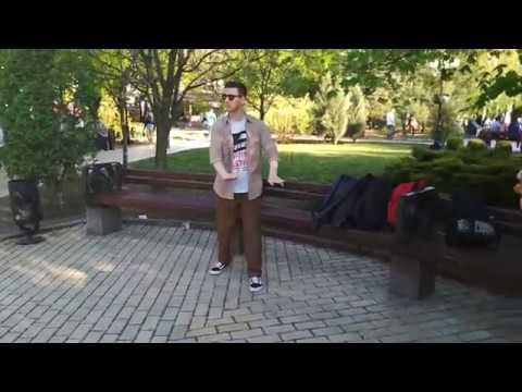 Импровизация под аккомпанемент скрипачки Оксаны