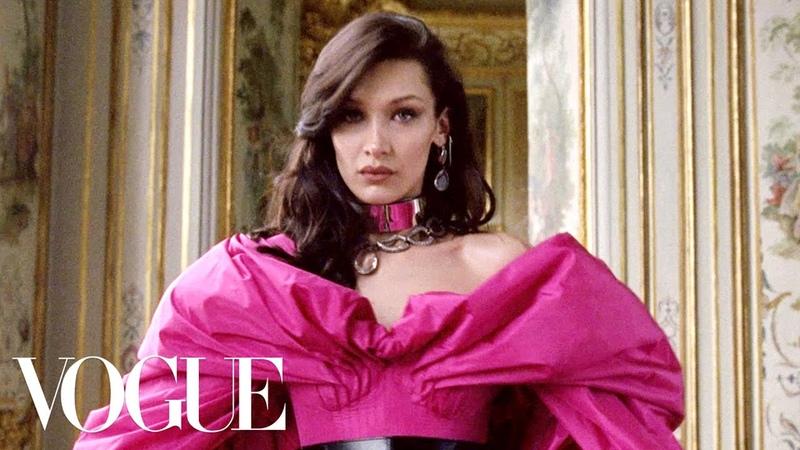 Vogue - Bella Hadid Models Fall's Paris Collections