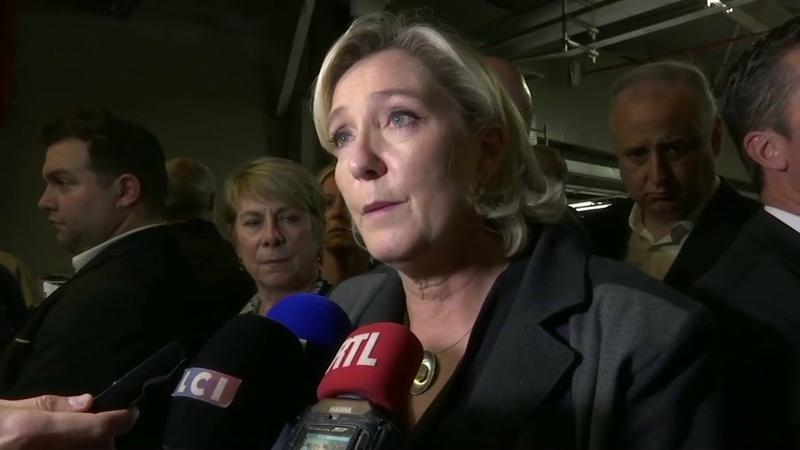 Marine Le Pen qualifie dattaque gratuite, lagression de sa fille hier soir