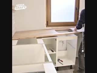 Потрясающий ремонт кухни gjnhzcf.obq htvjyn re[yb