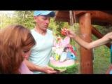Торт на 2 годика Жасмин