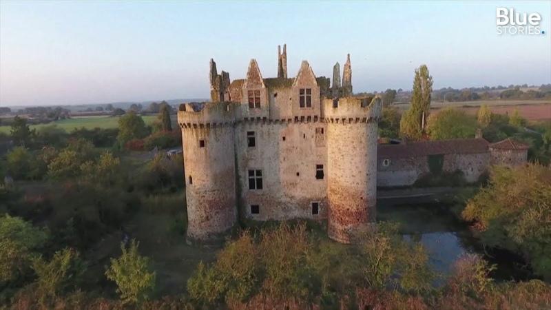 Ce château-fort a été sauvé de l'oubli grâce à un financement participatif en Nouvelle-Aquitaine