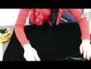 Как сшить длинное платье из бархата без выкройки Макси платье с кружевной юбкой