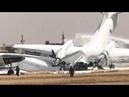 Two military Antonov planes collided on runway at Khartoum International Airport in Sudan.